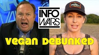 InfoWars: Vegan Is Unsustainable Diet Of Trendy Liberals
