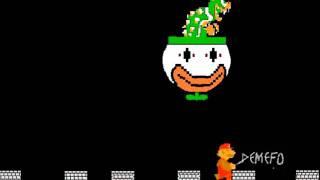 Super Mario World Final Boss NES Version
