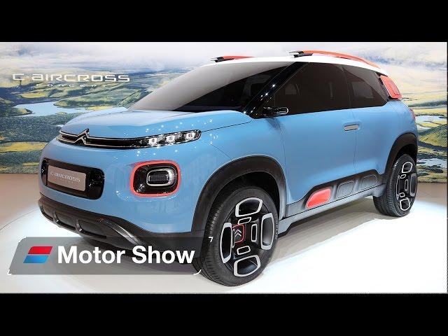Citroen C Aircross Concept - Geneva Motor Show 2017