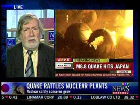 First news of the Fukushima Daiichi nuclear disaster