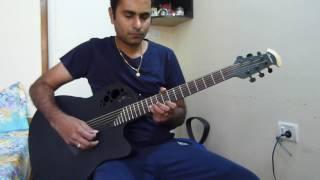 Munjane Manjalli Kannada acoustic guitar instrumental with karaoke
