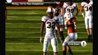 Let's Play NCAA Football 10 ps2 #3 Texas vs UL Monroe