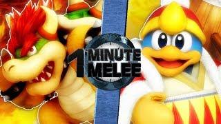 Bowser vs King DeDeDe - One Minute Melee S6 EP2