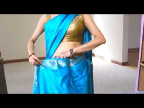 Xxx Mp4 How To Wear South Silk Saree To Look Really Slim South Indian Sari Draping 3gp Sex