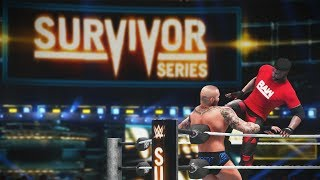 WWE 2K18 My Career Mode - Ep 91 - SmackDown vs RAW!! Survivor Series PPV!!