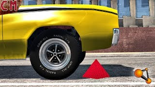 Tire BlowOut Crashes (Blown tires) BeamNG Drive