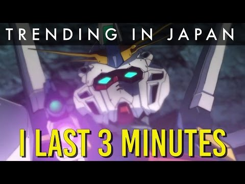 Gundam Twilight Axis is 3 Minutes Long? (Per Episode)