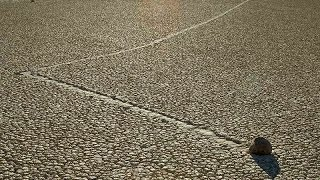 Mysterious Desert Rocks Move on Their Own