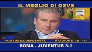 QSVS - I GOL DI ROMA - JUVENTUS 3-1 TELELOMBARDIA / TOP CALCIO 24