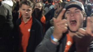 Welcome to the Clemson National Championship ... dance party?