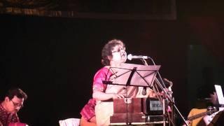 Jagorane Jay Bibhabori ( Rabindrasangeet) Srabani Sen Live-1