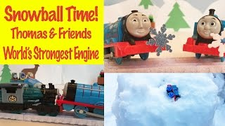 Thomas & Friends Minis Snowball TIme - World Strongest Engine Thomas The Tank Engine Kids Toys