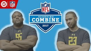 NFL Scouting Combine: Spice Adams vs. Scooter Magruder