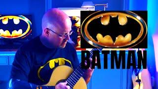 Batman Theme (1989) Acoustic Fingerstyle Guitar Cover