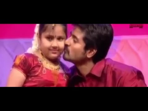 Sivakarthikeyan´s Daughter is asking about Remo Aunty | Remo Teaser Funny Moment TV Show 2016 July