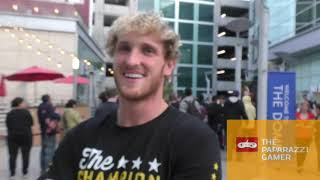 Logan Paul talks about LOVE and  if he is gonna get serious with his fighting career