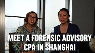 Meet An Accountant - Elena Xia - Forensic Accounting