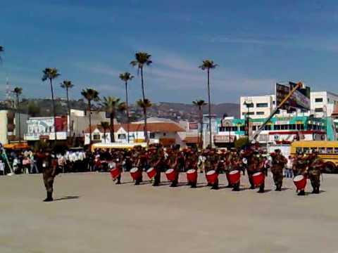 Banda De Guerra Cobach Ensenada 1er Lugar 2010