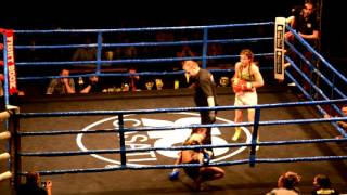 K1 GYM WORLD Pfäffikon ZH - Thea Loosli 55kg - Fight Night Volketswil