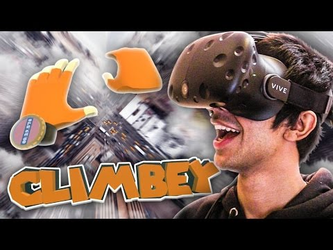 CLIMBING RACES IN VR CLIMBEY