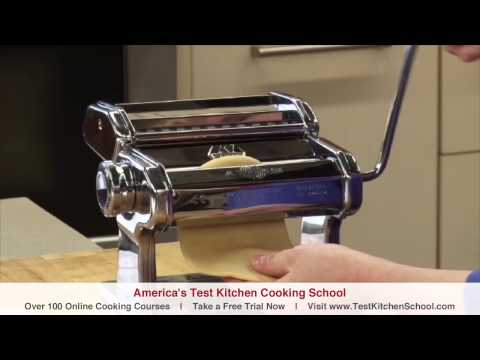 Learn To Cook How to Make Fresh Pasta Homemade Fettuccine