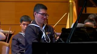 """Beethoven, Triple Concerto Op.56 part 2 and Encore """"Amazing Grace with Bach"""""""