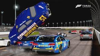 Doc Hudson Wreck! | Forza Motorsport 6 | NASCAR R Class
