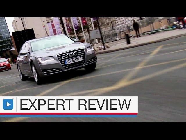 Audi A8 saloon expert car review