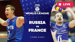 Russia v France - Group 1: 2017 FIVB Volleyball World League