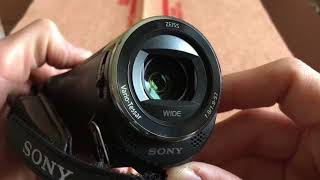 Sony HDR-CX405 HD camcorder. Best Inexpensive camera on market!