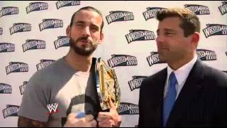 CM Punk answers questions from Twitter: March 28, 2012