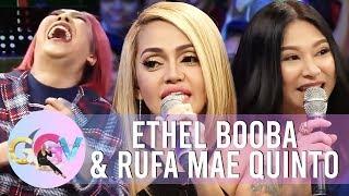"""GGV: Rufa and Ethel as """"Waze"""" voice"""
