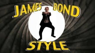 PSY - GANGNAM STYLE (강남스타일) - PARODY - James Bond Style