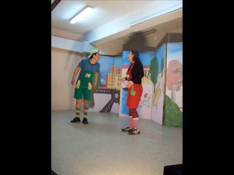 ŞİŞMAN ADAM GÜLE GÜLE müzikli çocuk oyunu