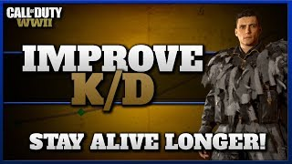 Stay Alive Longer & Improve KD Ratio! (CoD WW2 Tips!)