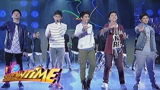 Gimme 5 serenades the madlang people on It's Showtime