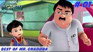 Best of Mr. Chaddha - Part 1 | Vir the Robot Boy | Mixed Gags for kids | WowKidz Action