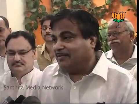 BJP Sthapna Divas Samaroh: Sh. Nitin Gadkari: 06.04.2011