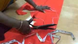 blouse cutting tutorial in telugu
