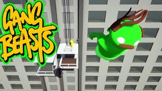 Gang Beasts - Fly Away [Father and Son Gameplay]