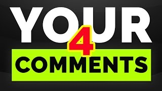 YOUR COMMENTS #4 (September-October)