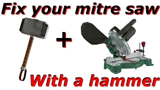 Tools Tuning ep. 1 - Make your cheap mitre saw perfect