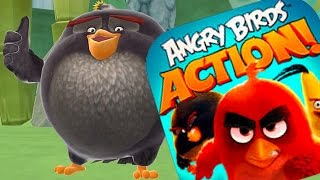 Levels 42 - 46 Angry Birds Action Walkthrough - New Angry Birds Movie Game (IOS/ANDROID)