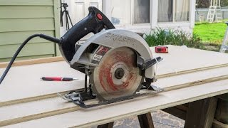 Perfect Cuts With A Circular Saw - 200