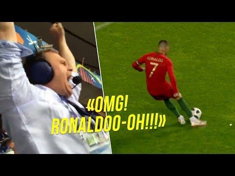 When Commentators Went CRAZY After Cristiano Ronaldo Goals 😱