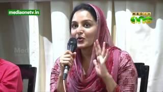 Let women be safe first, says Manju Warrior , lady super star of Mollywood