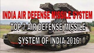 Top 7 Air Defence Missile System of Indian Army 2016