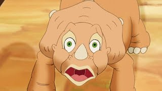 Land Before Time | The Amazing Threehorn Girl | Cartoon for Kids | Kids Movies