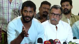 Beep Song Controversy - Simbu Refused to Apology - Actor Vishal & Nassar Blames Simu and Rathika