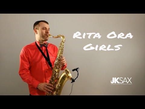 Rita Ora - GIRLS ft. Cardi B, Bebe Rexha & Charli XCX - Saxophone Cover by JK Sax (Juozas Kuraitis)